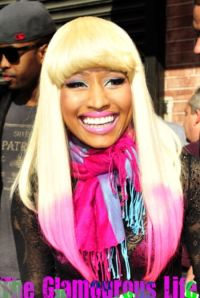 Nicki Minaj seen outside Wendy Williams show in New York City