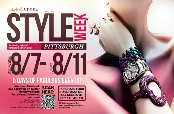 Style Week Pittsburgh Wednesday, August 7th-Sunday, August 11th