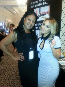 Adrienne Bailon and Nicole Manns