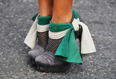 YSL Emerald Shoes  Fashion Friday Shoe Pick