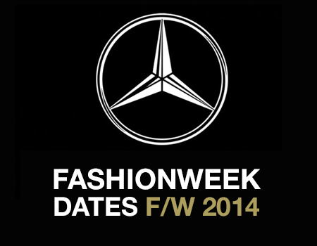 New York Fashion Week F/W 2014 Full Schedule
